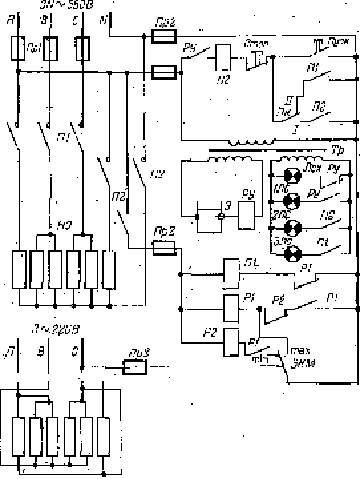 электрическая схема автоклава