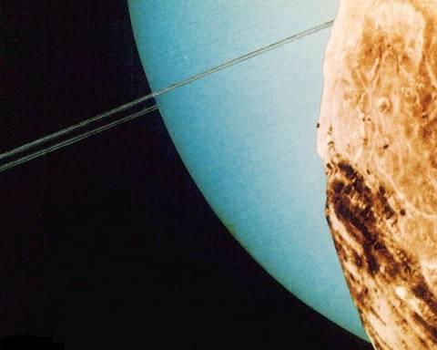 Планета солнечной системы Уран