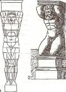 Почему колонны подобного вида называют именно так