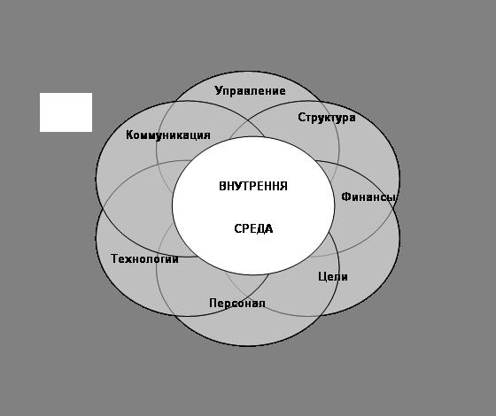 Рисунок 5 – Факторы внутренней