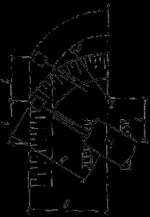 Схема определения проходки