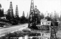 Нефтяные вышки в Лос-Анджелесе (1896)