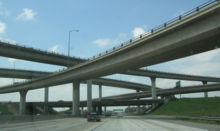 Развязка на пересечении автодорог I-10 и I-15.