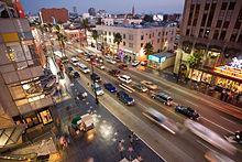 Бульвар Голливуд (фото с Театра Кодак)