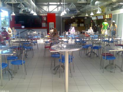 Торговый зал кафе «Бур