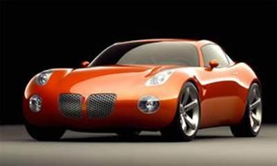Pontiac Solstice может получить кузов купе