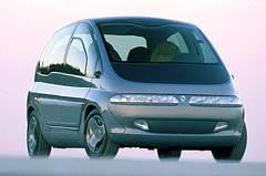 <nobr>Концепт-кар</nobr> Scenic 1991 года позже превратился в серийную модель и стал прародителем нового класса автомобилей — компактвэнов.