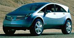 <nobr>Концепт-кар</nobr> Renault Koleos — развитие авангардного фирменного стиля.