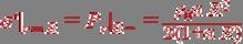 \sigma ' _{r=R} = P_r _{R-} = \frac{\rho_0\alpha R^2} {2(1+\alpha R)}