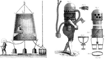 Водолазный колокол Галлея