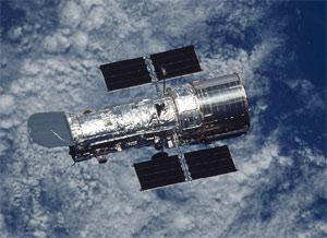 Орбитальный телескоп «Хаббл» (©NASA фото с сайта hubblesite.org)