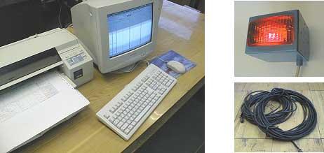 Рабочее место мастера, сигнальное устройство и комплект соединительных кабелей