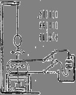 Рис. 1. Схема первого примененного для практических потребностей электрического телеграфа, изобретенного П.Л.Шиллингом и действовавшего в 1832 г. в Петербурге на линии Зимний дворец – Министерство путей сообщения