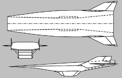 Схема X-43A