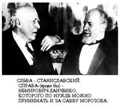 Stanislavskiy - Nemirovich