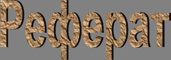 Реферат