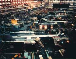 Сборка SR-71A #977-980
